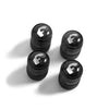 Valve Stem Caps with Forgiato Logo   set of 4