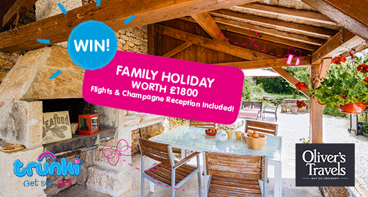 Competition: WIN A Family Villa Holiday In France Worth £1800... Travel & Champagne Reception Included!