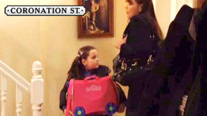 Trixie Trunki Makes An Appearance On Coronation Street!