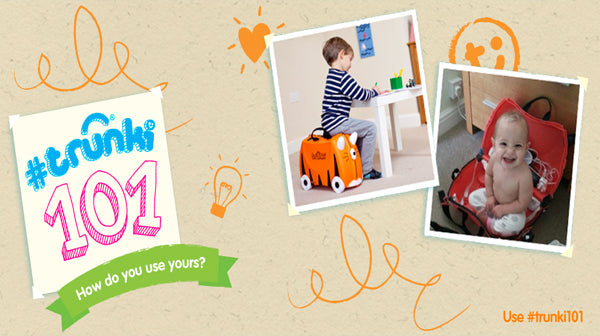 Trunki Travels, What Else Can It Do?