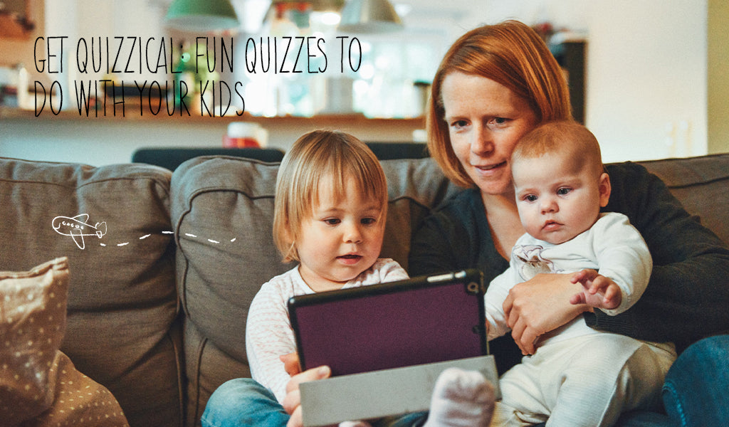 Get Quizzical: Fun Quizzes To Do With Your Kids