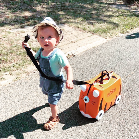 Tipu The Tiger Trunki Ride On Suitcase