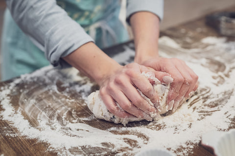 Messy Fun with dough!