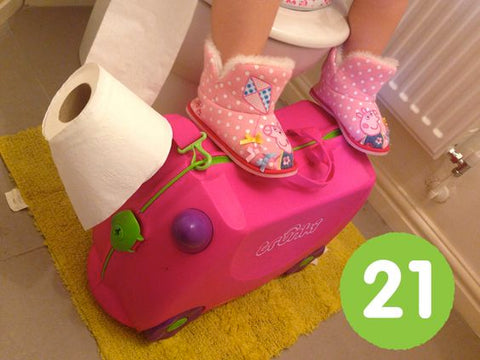 Five Ways To Use Trunki At Home