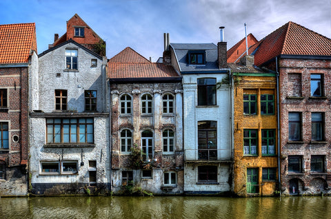 Ghent is a colourful wonderland!