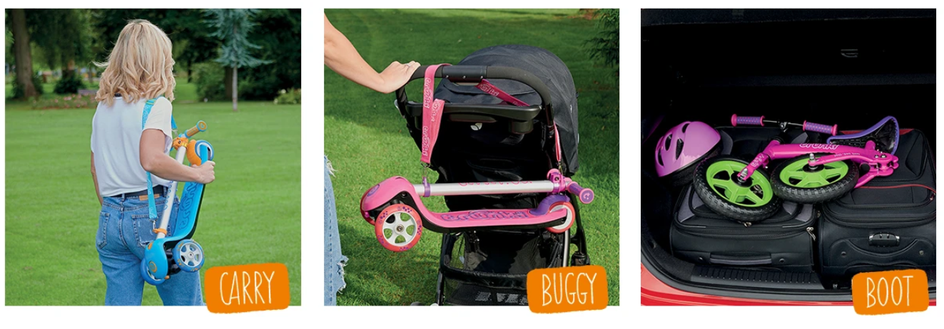 Scooters Carry Buggy Boot