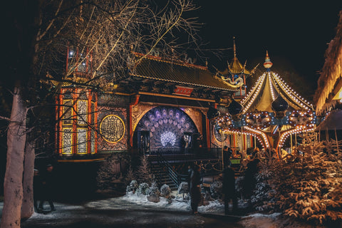 The Tivoli Gardens is a Danish Disneyland!