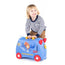 happy child with paddington bear Trunki