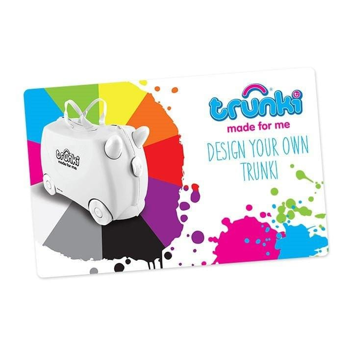 Make your own Trunki Gift Card