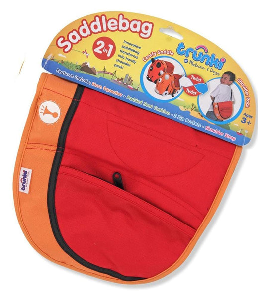 Red and Orange SaddleBag