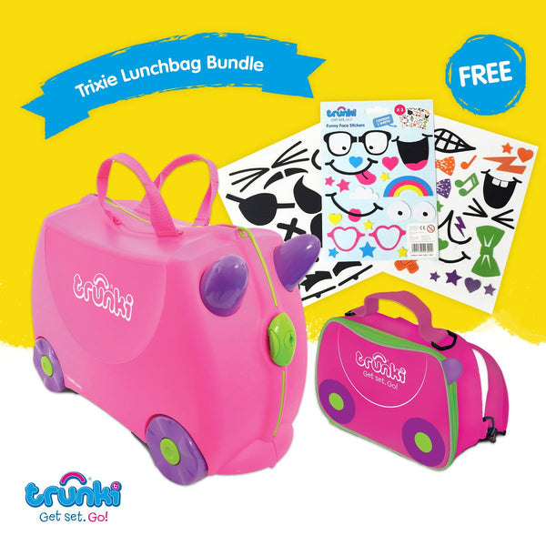 Trixie Bundle - Trunki & FREE Lunchbag Backpack & Stickers