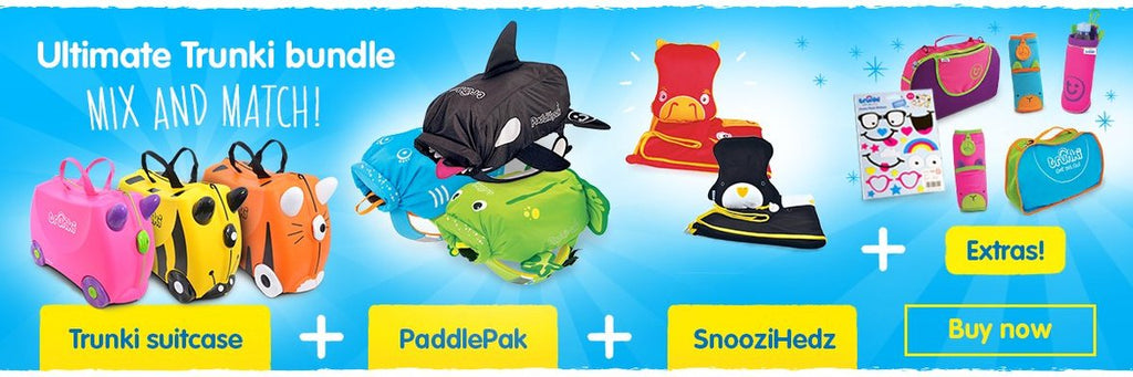 Trunki Ride On Suitcase For Kids