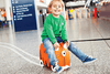 The original innovative ride-on suitcase for globe-trotting tots!