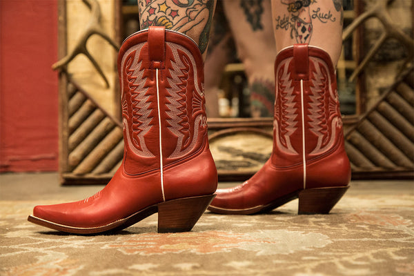 How to Care for Your New Cowboy Boots!