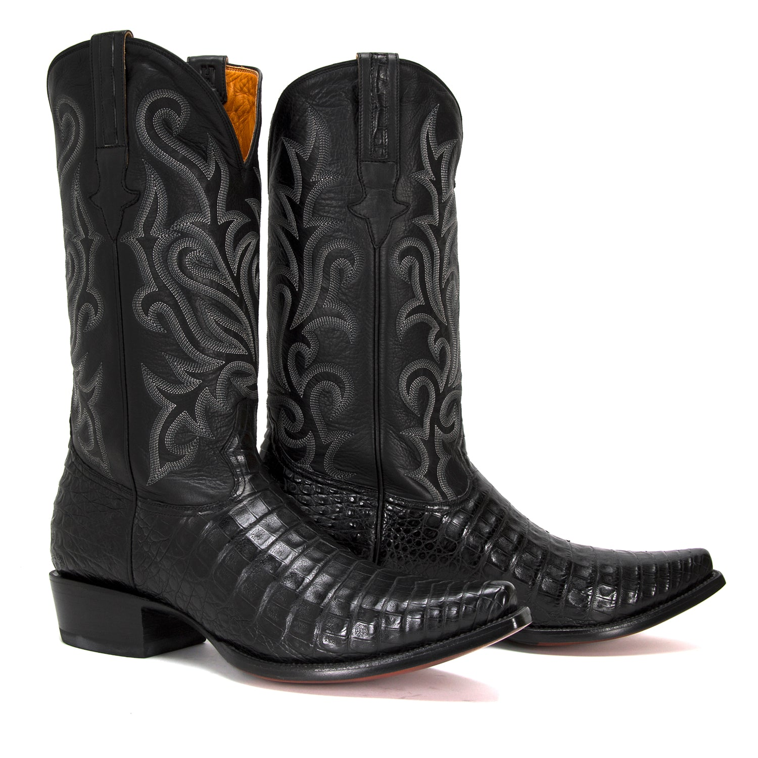 Caiman Boot In Black Heritage Boot