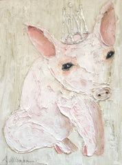 Piggy 9x12 Hand Painted Artwork - Relish New Orleans