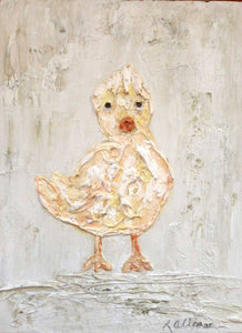 Baby Chick  9x12 Hand Painted Artwork - Relish New Orleans