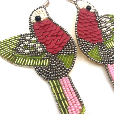 Image of Hummingbird Earring