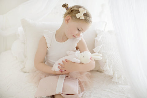 Image of Asleep/Awake Bunny - Pink