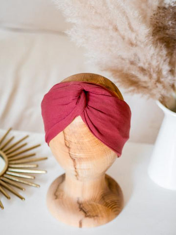 Image of Linen Twisted Headband