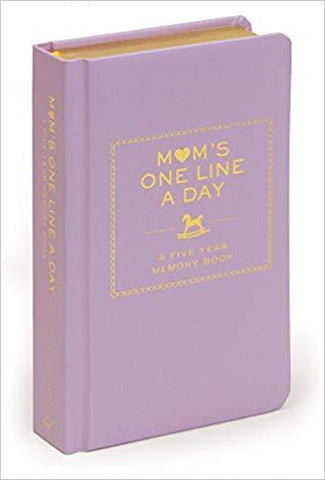 Mom's One Line a Day: Memory Book