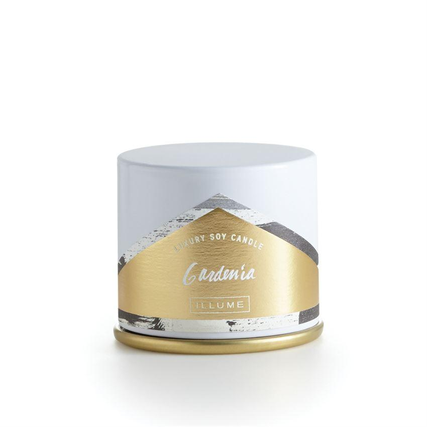 Gardenia Demi Tin Candle