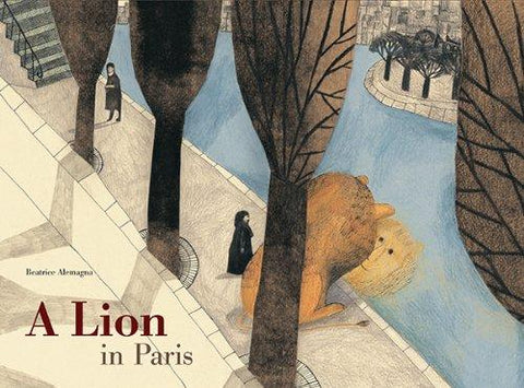 Image of A Lion in Paris