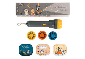 Les Moustaches Storybook Torch