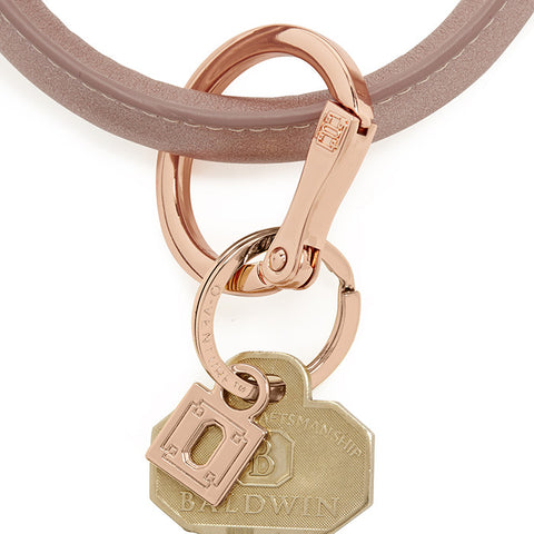 Rose Gold Big O Key Ring - Relish New Orleans  - 2