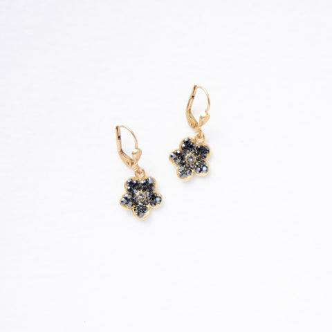 Small Flower Dangle Earring