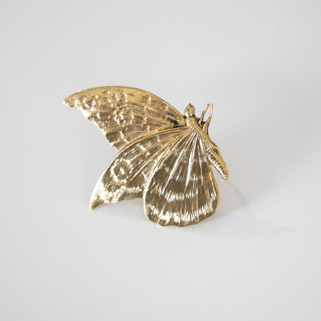 Large Butterfly Ring