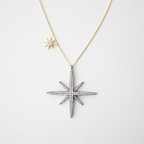 Large North Star Necklace