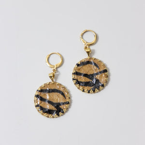 Tiger Earring
