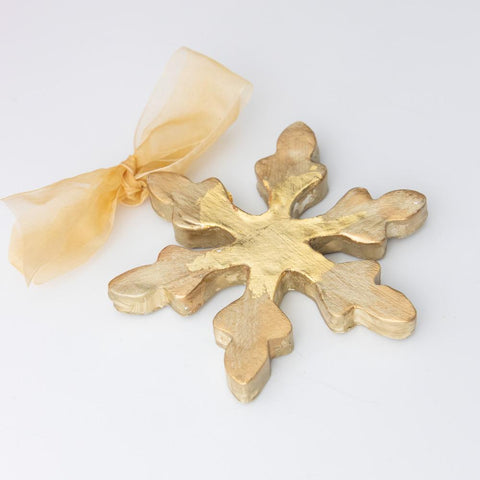 Gold Finished Ornament