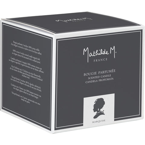 Elegant Candle in Marquise by Mathilde M