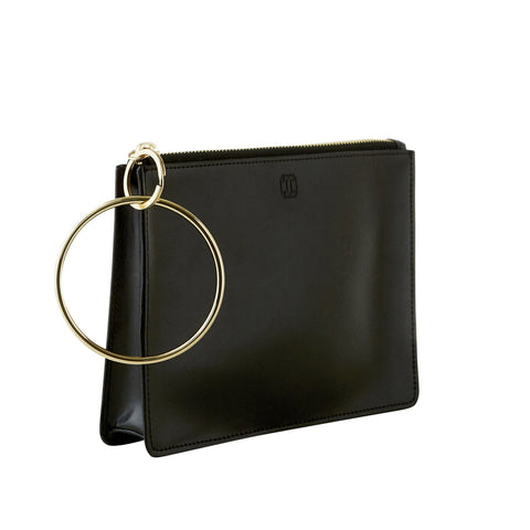 Back in Black - Big O Bracelet Bag