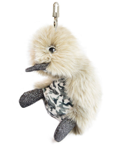 Key Ring Khaki Duck