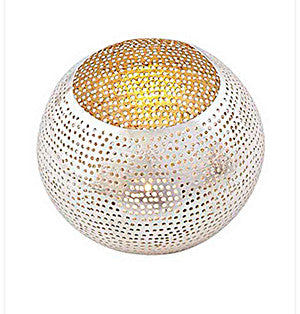 Nickel Plated  Round Votive Holder