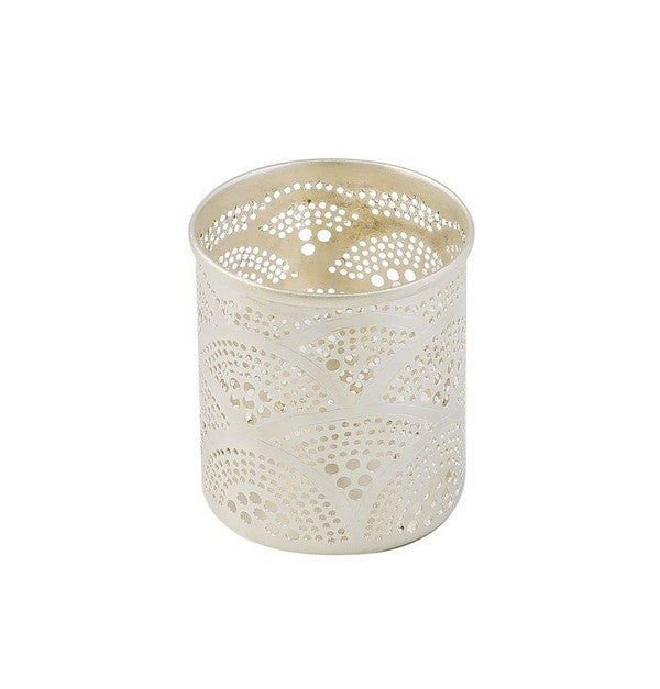 Nickel Plated Cup Votive Holder