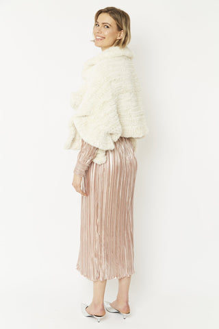 Faux Fur Cape Wrap