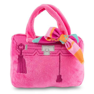 Pink Barkin Bag with Scarf