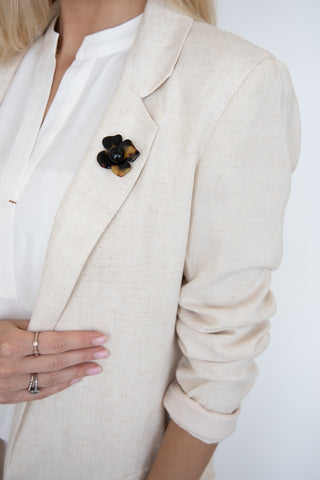 Magnetic Flower Broach