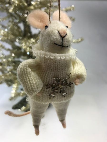 Petunia Mouse Christmas Ornament - Relish New Orleans  - 1