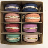 Gold Dust Macaron assortment of 8 - Relish New Orleans  - 1