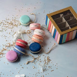 Gold Dust Macaron assortment of 8 - Relish New Orleans  - 3