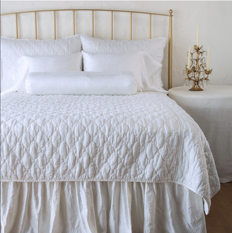 Image of Bella Notte Linens Luna Coverlet - AtHomewithBethandChad.com