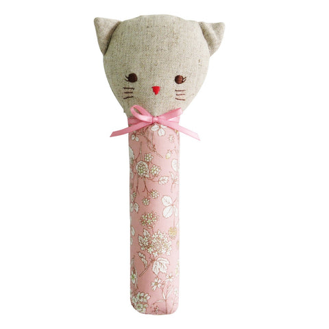 Odette Kitty Squeaker - Pink Blossom