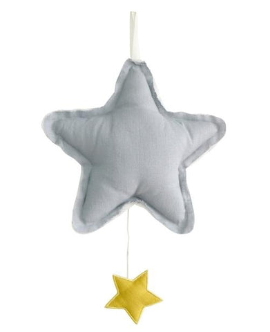 Alimrose Star Musical - Grey Linen