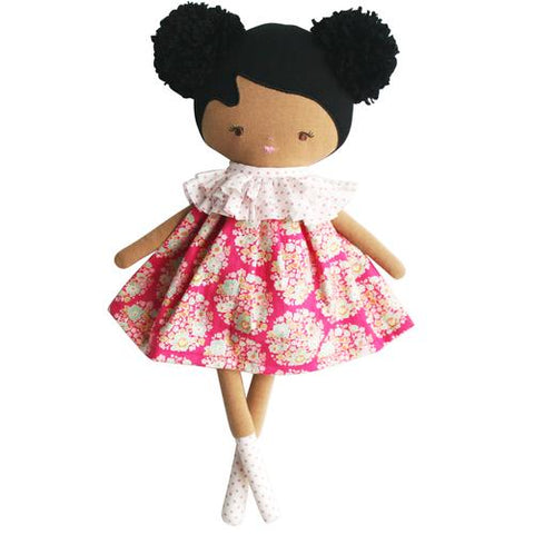 Alimrose Baby Ellie Doll 36cm - Hot Pink