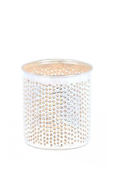 Nickel Plated Filisky Votive Holder